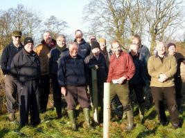 Tree Planting at Cuckoo Nest Farm Addingham