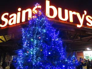 Tree of Light 2015 Switch On - 4.30pm November 28th 2015, Sainsbury's Oswestry