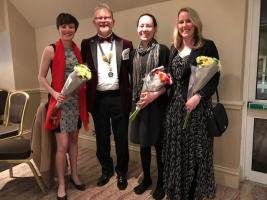 Vanessa Picker, Graeme Leech, Michaela Dolk and Alison French