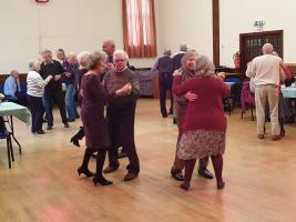 We hold a free afternoon tea and dance for the community