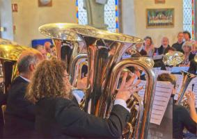 Brass Band Concert 2019 raises £2,400