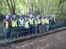 Club members vIsit To Rhydymwyn Tunnels