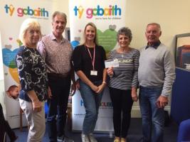 Presentation to Tŷ Gobaith Children's Hospice