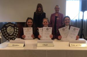 Success for Tytherington School in Rotary District Youth Speaks Final