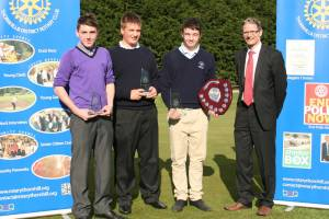 Thornhill Hosts Under 16 Golfers 2011