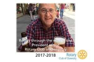President Dave talks to Oswestry U3A - Memorial Hall, Oswestry