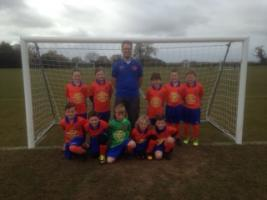 Aylsham Under 8 Football Team's New Strip