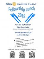 2018 Fellowship Lunch