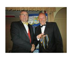 Rotary Club of Lowestoft East Point Handover 2016