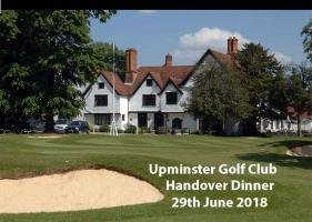 Handover Evening meeting Upminster Golf Club 7 for 7:30pm