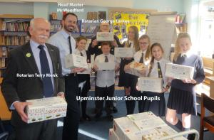 Upminster Junior School Collection of Shoe Boxes