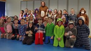 Upperby School Pyjama Day