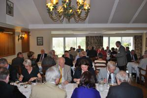 The farewell lunch at Ilkley Golf Club