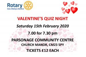 Valentine's Quiz Night