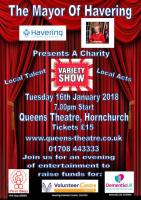 Variety Show presented by Mayor Linda van den Hende - Tue 16th Jan 2018