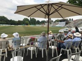 A sociable visit to the Worcester Cricket Ground
