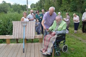 Opening of Weavers' Way Viewing Platform - August 2016