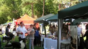 A sunny day for the Village Show brought the crowds out to enjoy the entertainment and browse the many stalls