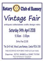 Antiques, Vintage, Artisan Fair at the 1940s Drill Hall