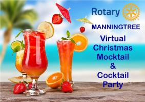 Virtual Christmas Mocktail & Cocktail Party
