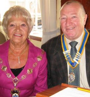 Mayor of Havering visit to Club