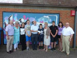 Visit to Limelights Youth Club
