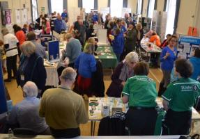 Picture of our Charity Fair held in March 2017