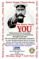 Kirkby Rotary needs YOU