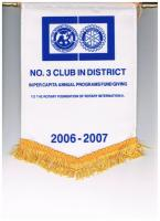 2006 - 07 No. 3 Club in the District