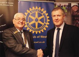 Willie Rennie MSP visits Club
