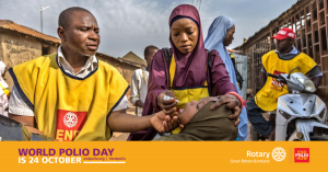 Rotary celebrates World Polio Day