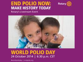 World Polio Day - October 24th 2014