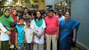 Visit to the Disabled School in Rajshahi, Bangladesh.