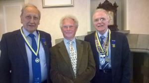 Two Allander Rotarians named Paul Harris Fellows
