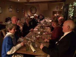 Christmas meal and party at the Stagg TItley