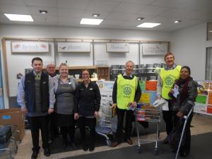Christchurch Food Bank Collection - 2015