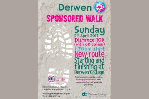 Derwen College Annual Sponsored Walk - 1.30pm