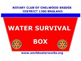 Water Survival Boxes for Ecuador