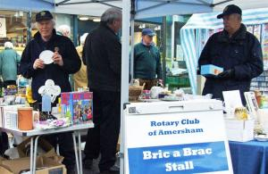 22 & 25 February 2011 - Bric-a-brac stall takes nearly £400 for charity