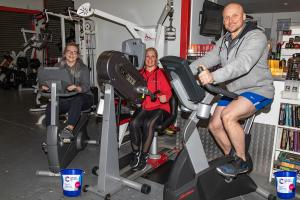 Sponsored static ride to raise money for Prostate Cancer Research