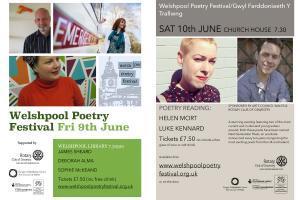 Welshpool Poetry Festival - Supported by the Mary Hignett Bequest Fund