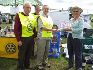 Wensleydale Show Rotary stall