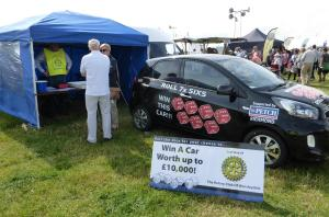Rotary at Wensleydale Show 2016