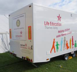 Life Education Thames Valley mobile classroom
