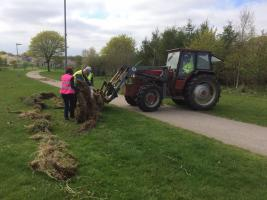 Westfield Park Fencing project