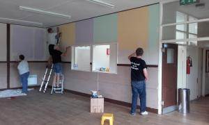 Westgate Community Hall redecoration