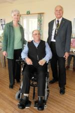 Rotary helps local disabled artist