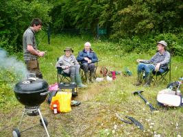 Whelford Pools - the Last Visit and the last BBQ