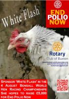 'White Flash' runs to fundraise for End Polio Now