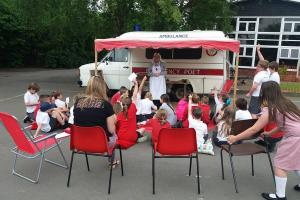 Mary Hignett Funds Visits by The Emergency Poet to 4 Oswestry Primary Schools